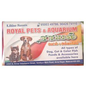 Royal pets and Aquarium Madurai Tamil Nadu India